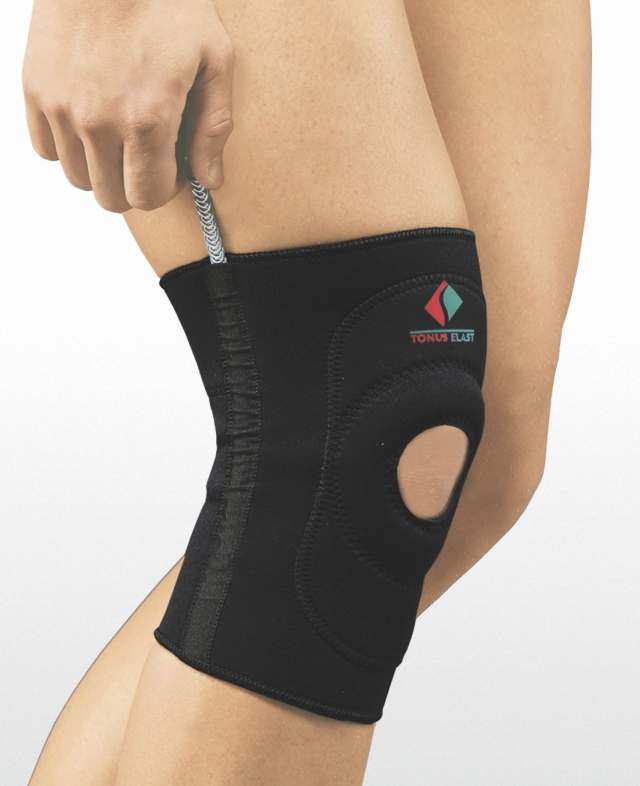 Ortéza kolena neoprénová navliekacia ELAST 9903-01